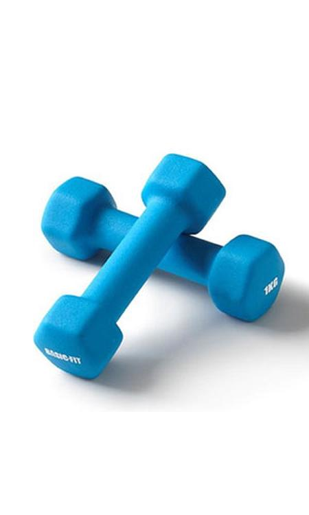 Basic-Fit Dumbbells - 2 x 1 kg Set
