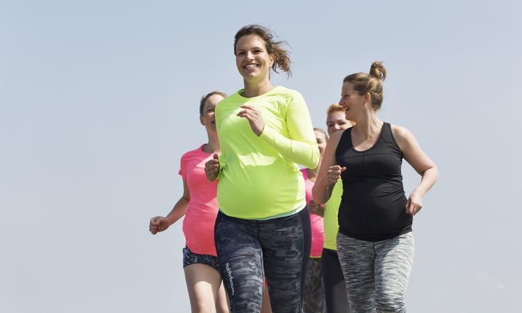 Hardlopen tijdens en na de zwangerschap