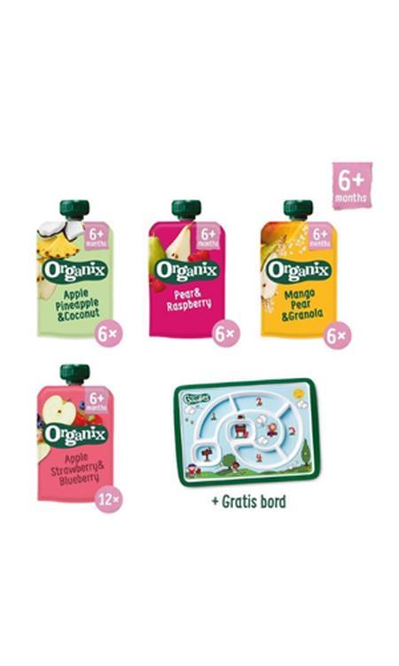 Organix Knijpfruit