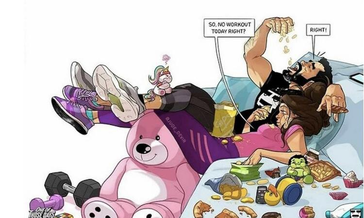 20x struggles van het ouderschap in goudeerlijke cartoons