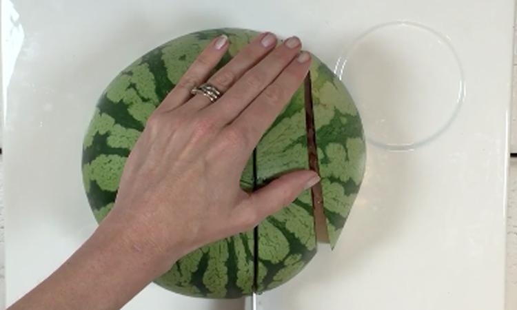 Easy peasy: zó snijd je een watermeloen