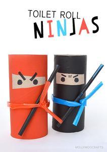 knutselen ninja