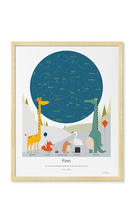 sterrenhemel poster