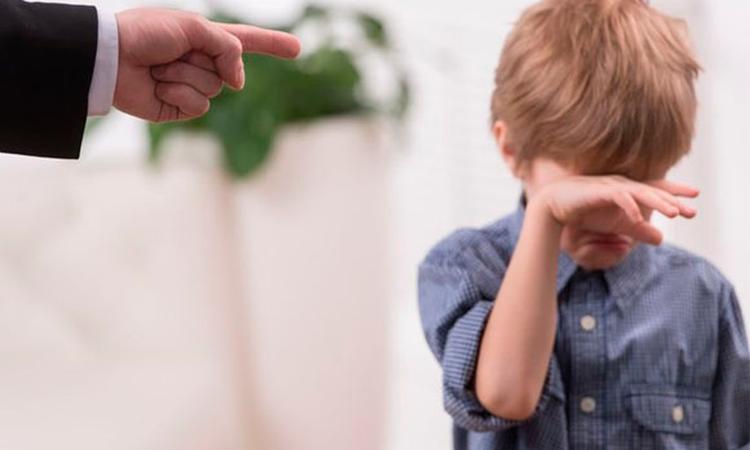 Liegend kind bestraffen werkt niet