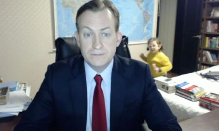 Kinderen die tijdens het BBC-interview binnen banjerden krijgen eigen tv-show