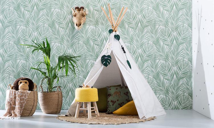 Inspiratie voor de babykamer: jungle trend