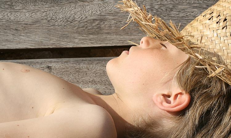 Zonneallergie bij baby's en kinderen