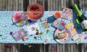 Uitnodigingen maken voor een kinderfeestje