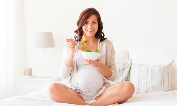 Vegetarisch eten en zwanger (of veganistisch)