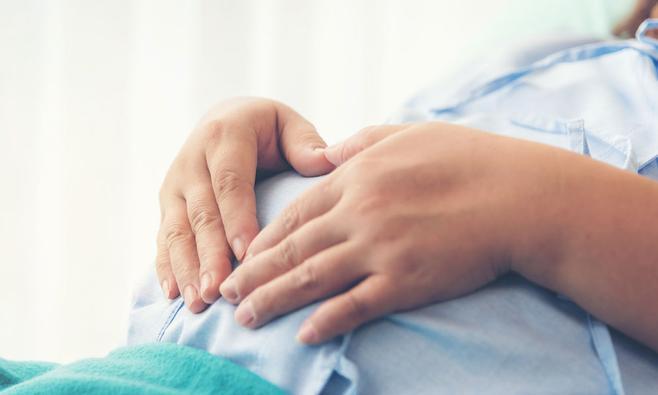 Overgeven tijdens de bevalling